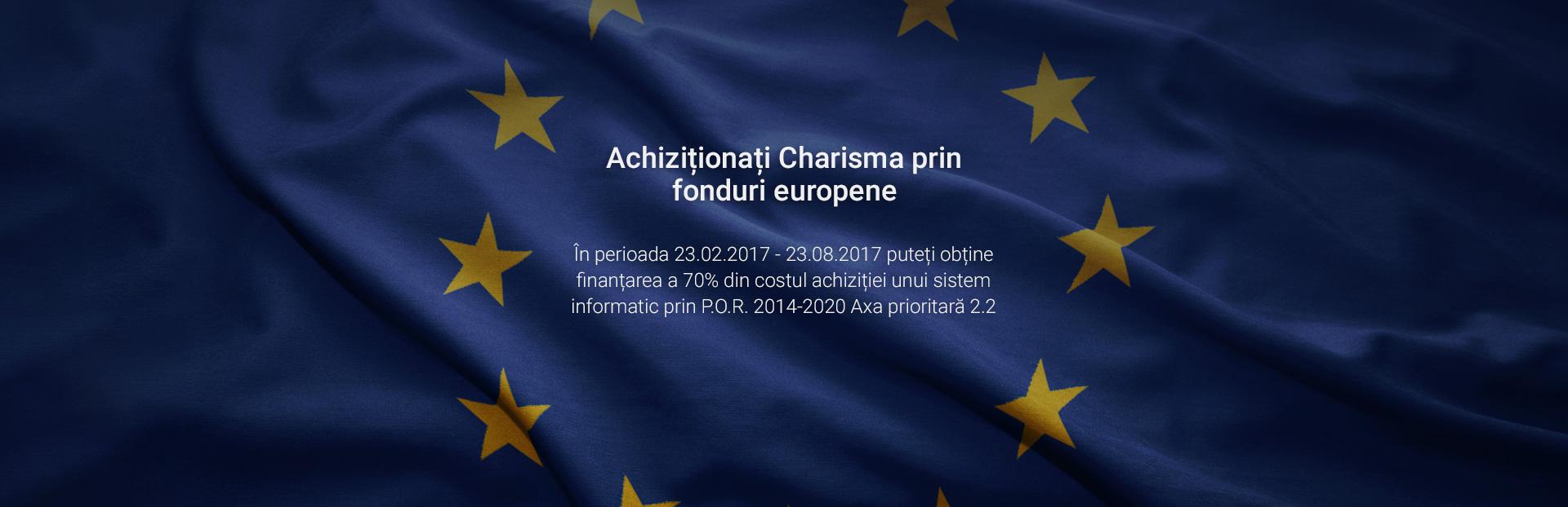 Charisma prin fonduri europene