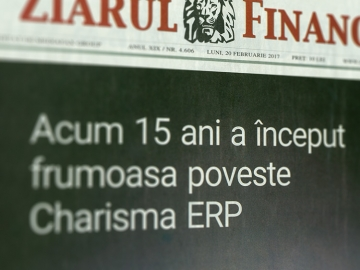 Charisma ERP Celebrates 15 Years Since Market Launch